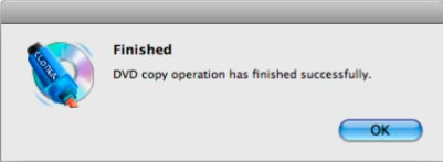 finish copying dvd on mac
